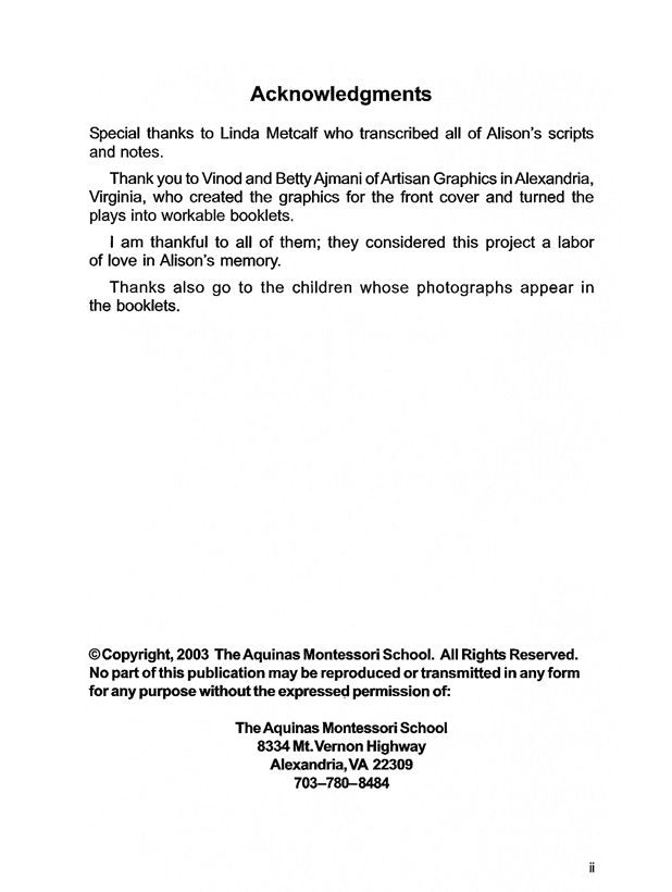 Acknowledgment & Copyright: Shakespeare for Children: Hamlet By Alison Futtrell