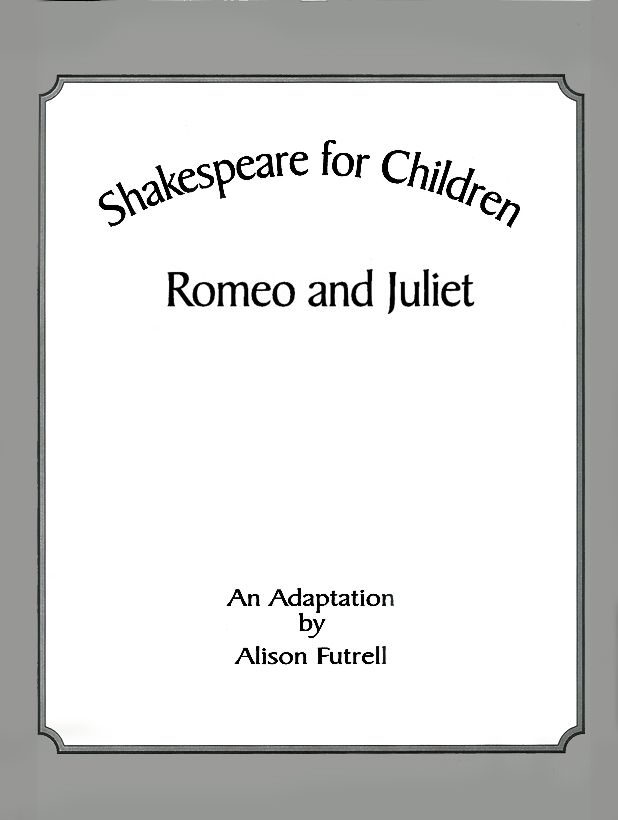 Title Page — Shakespeare for Children: Hamlet By Alison Futrell